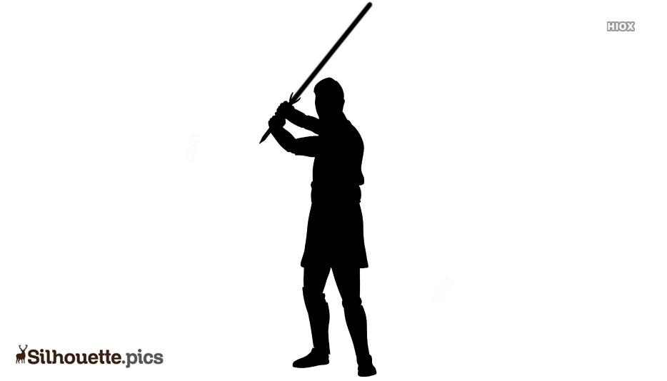 Horuz Character Silhouette Illustration