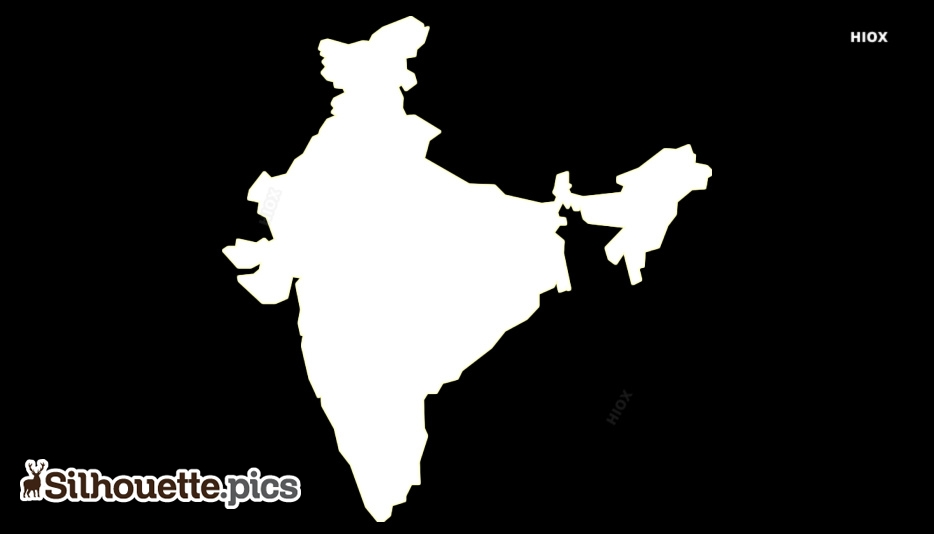 Map Silhouette Images