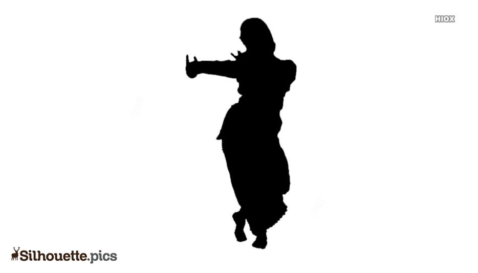 Indian Classical Dance Bharatanatyam Silhouette Silhouette Pics