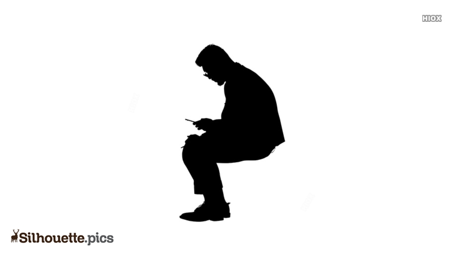 Sitting Indian Style Silhouette Images