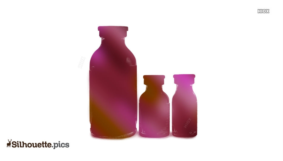 Bottle Silhouette Images