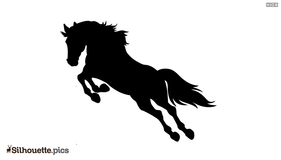 Irish Terrier Horse Silhouette
