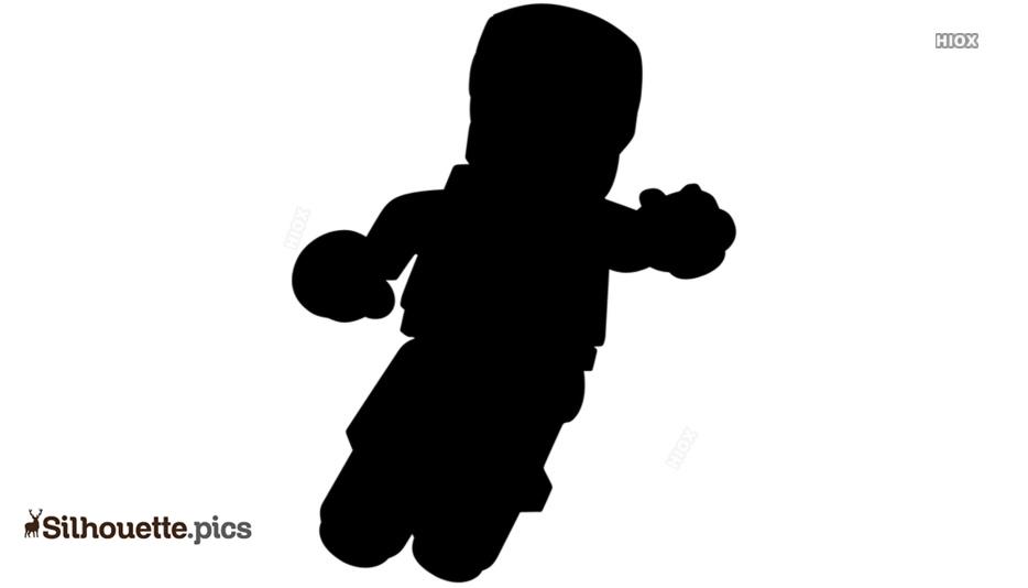 Iron Man Cartoon Silhouette