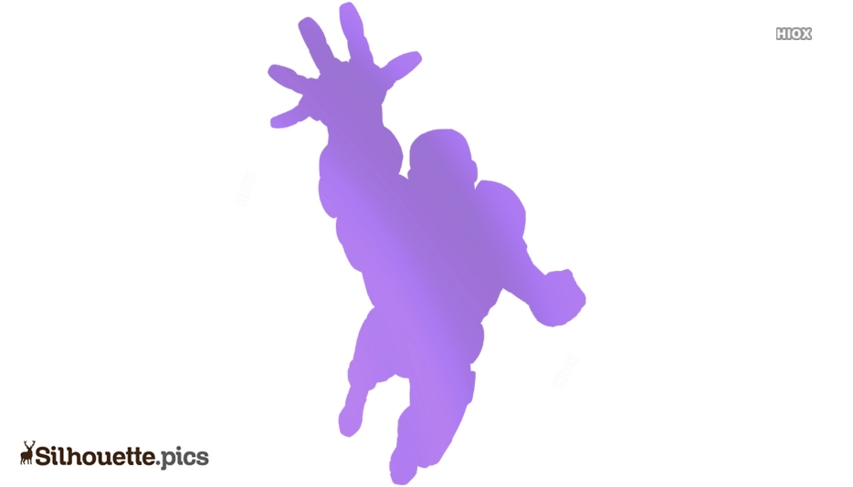 Iron Man Character Silhouette Drawing