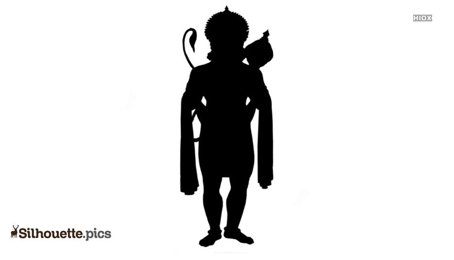 Jai Hanuman Silhouette