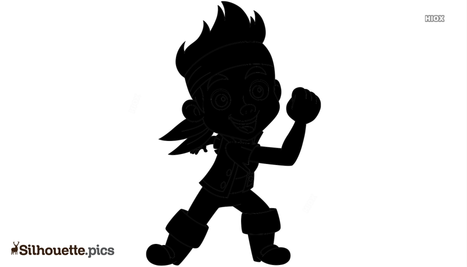 Jake And The Neverland Pirate Silhouette