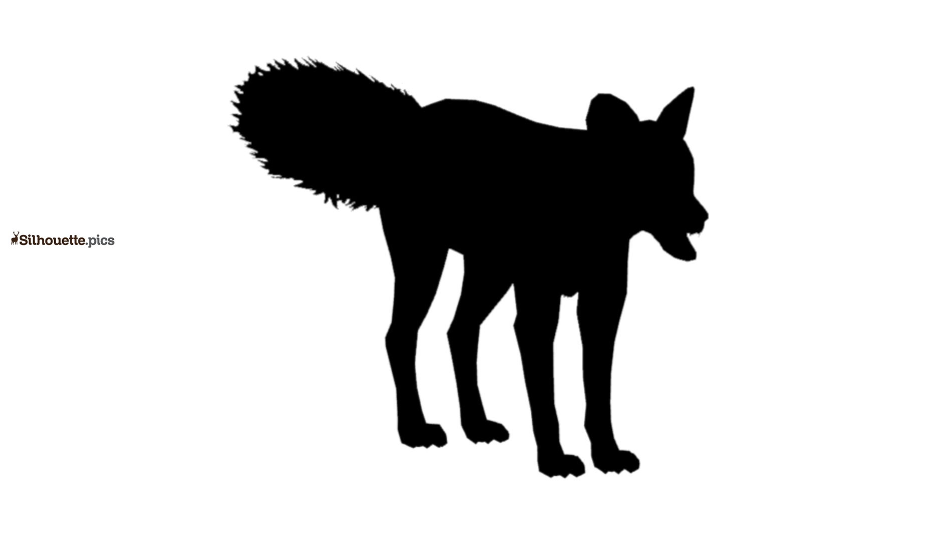 Japanese Fox Silhouette Vector And Graphics
