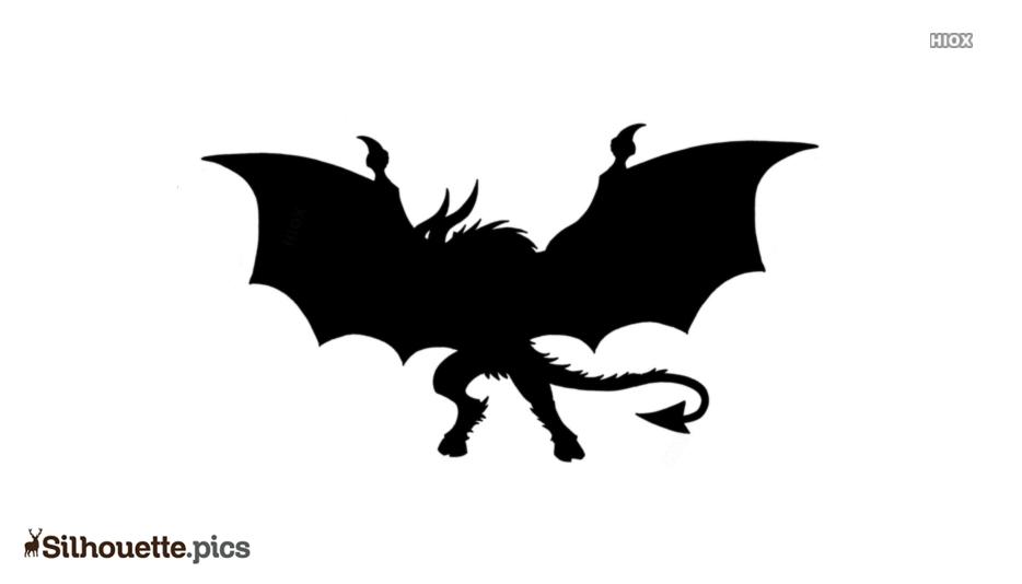 Jersey Devil Symbol Silhouette
