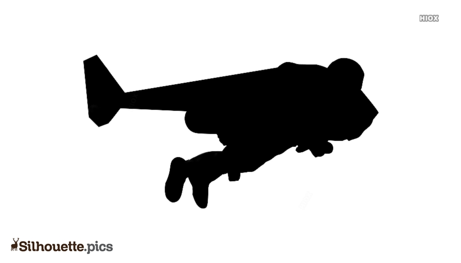 Jetman Comics Silhouette Free Vector Art