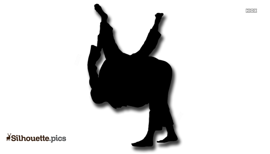 Martial Arts Silhouette Images
