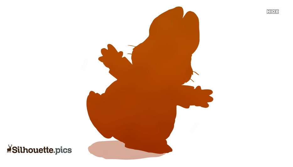 Jumping Max and Ruby Silhouette