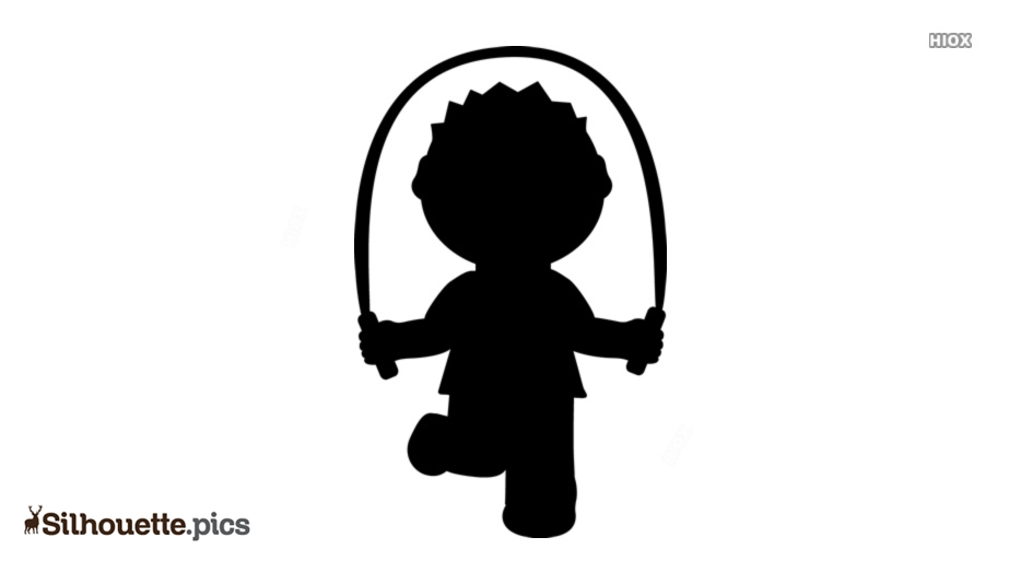 Jumping Rope Clipart Black and White