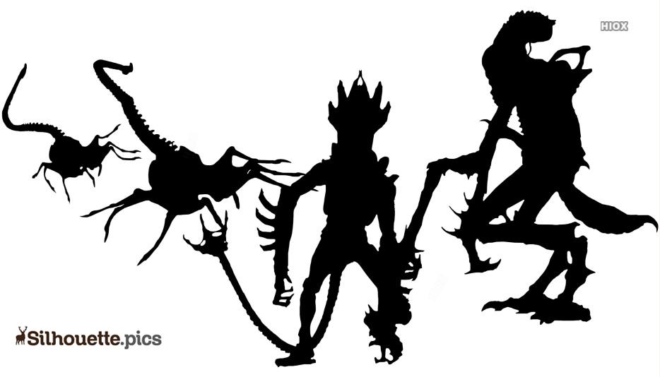 Kenner Alien Toys Silhouette