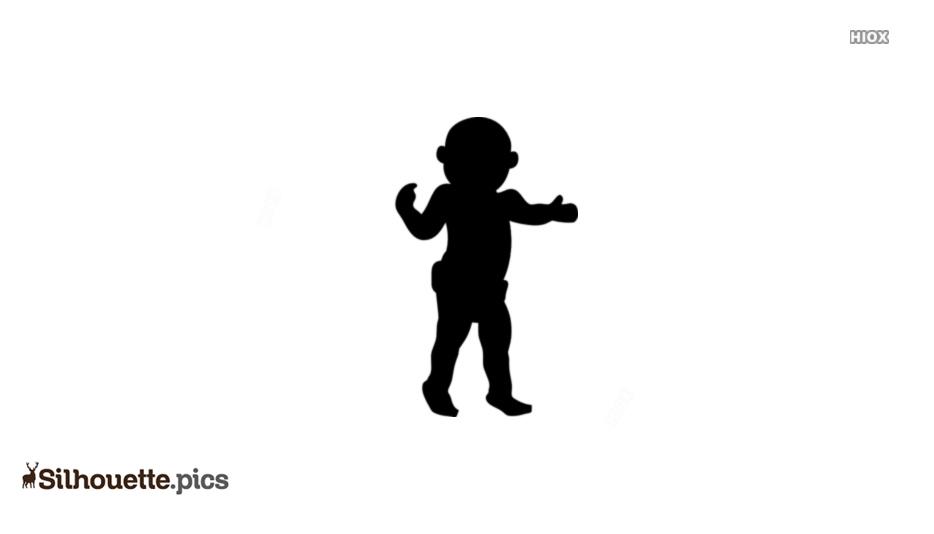 Kid Walking Silhouette