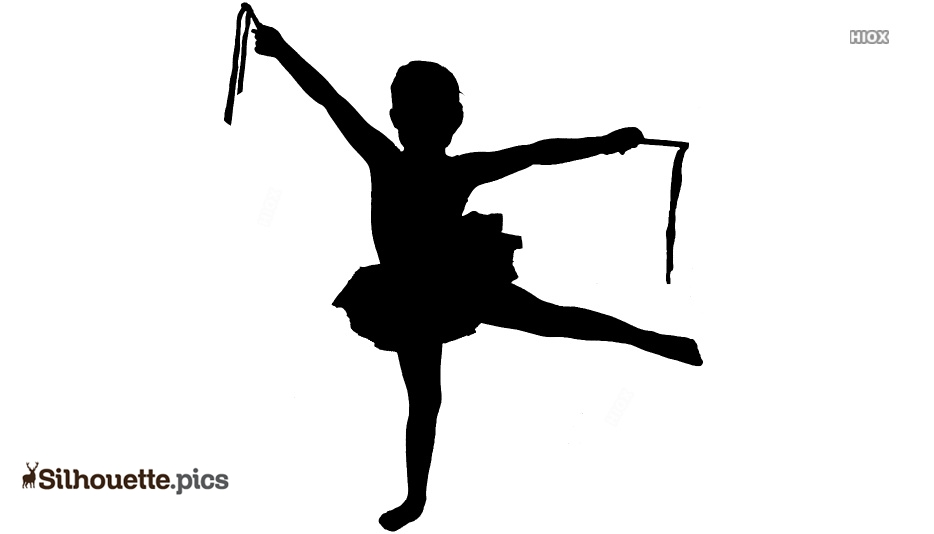 Kids Dance Silhouette