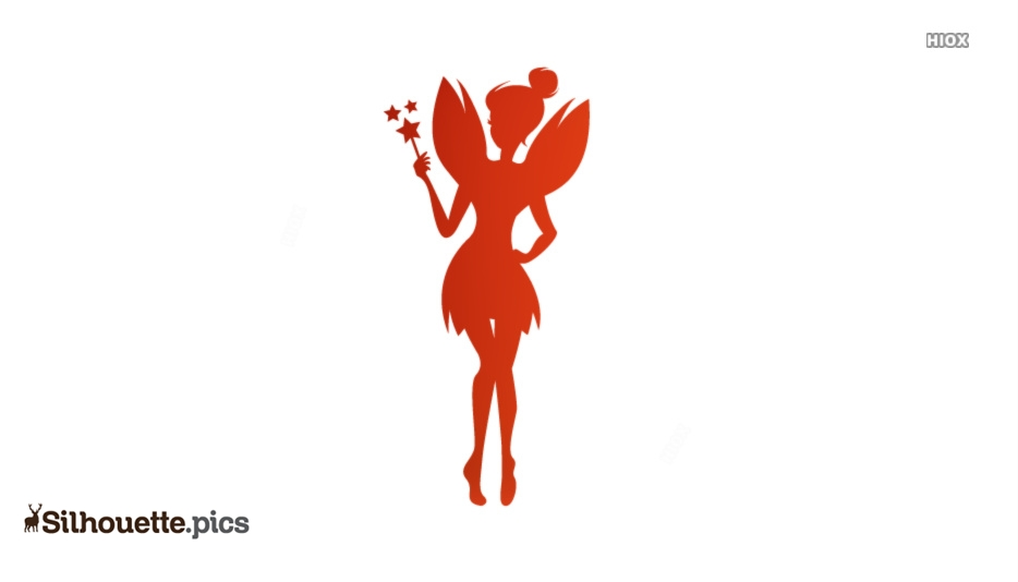 Lady Fairy Cute Silhouette