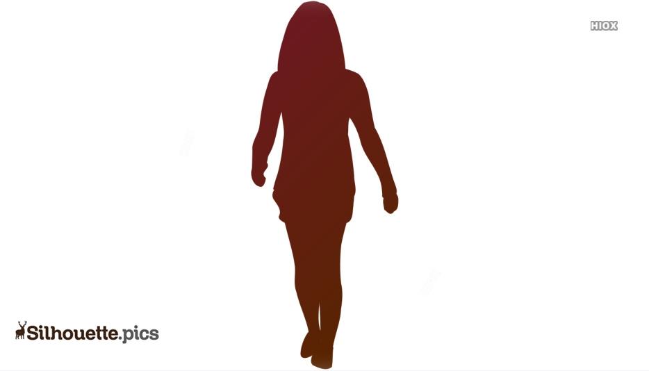 Lady Walk Silhouette