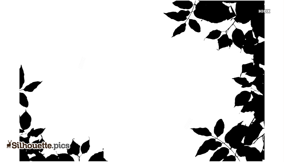 Nature Border Silhouette Images