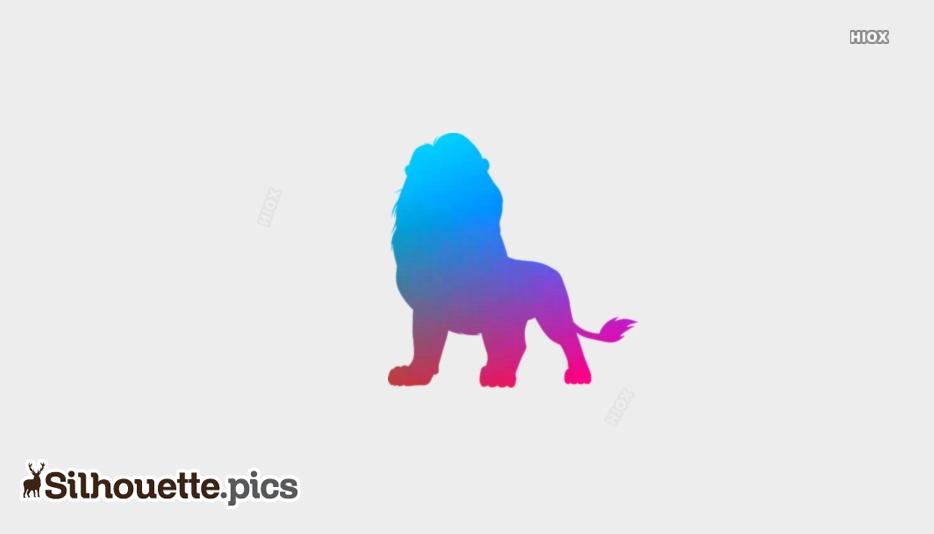 Lion Silhouette Images