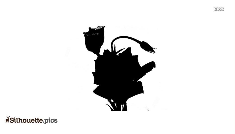 Lisianthus Silhouette Clip Art