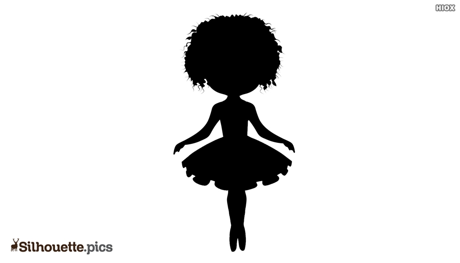 African American Ballerina Silhouette Images