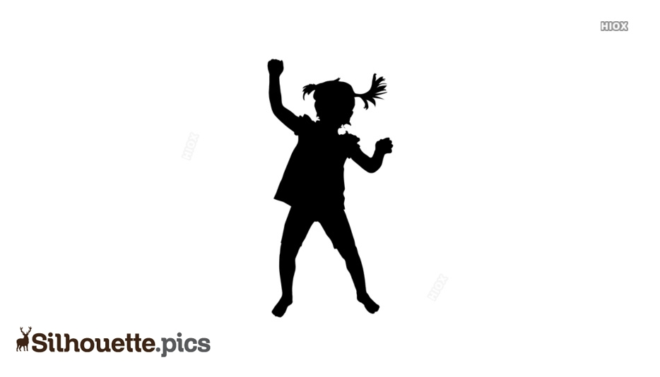 Little Girl Silhouette Images