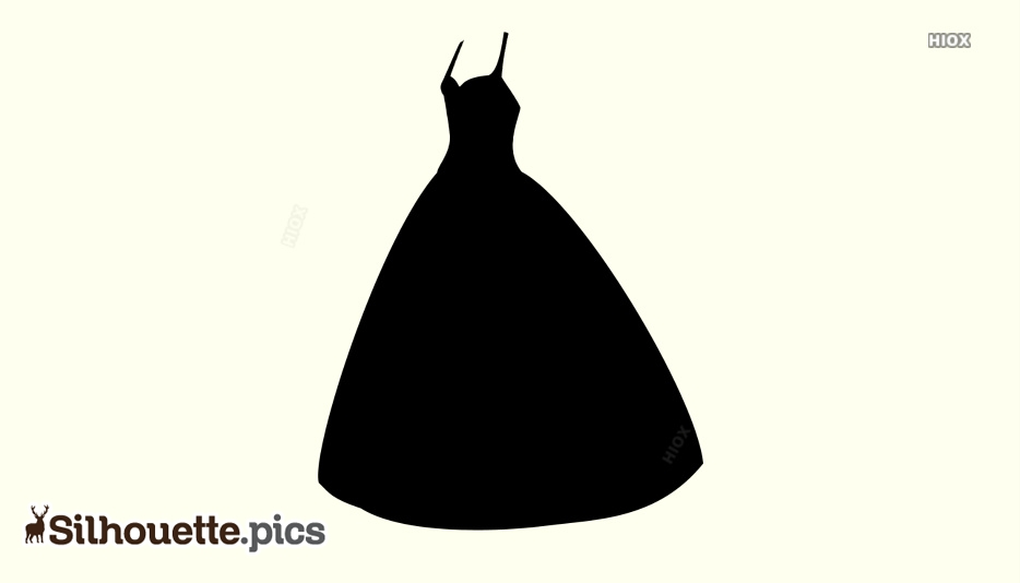 Long Dress Silhouette Images