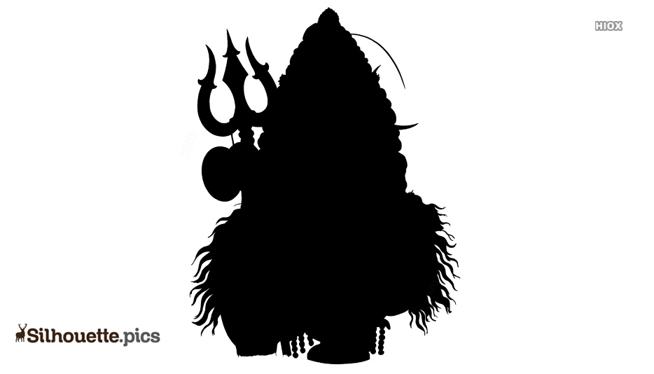 Lord Shiva Silhouette