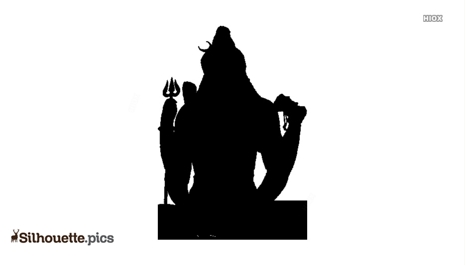 Lord Shiva Silhouette Image