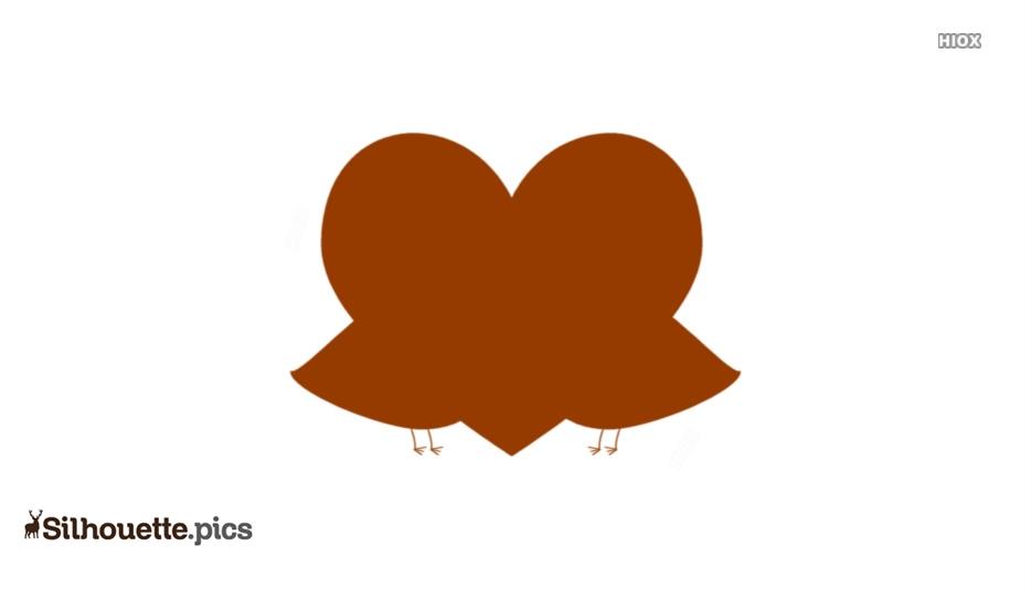 Love Birds Silhouette Picture