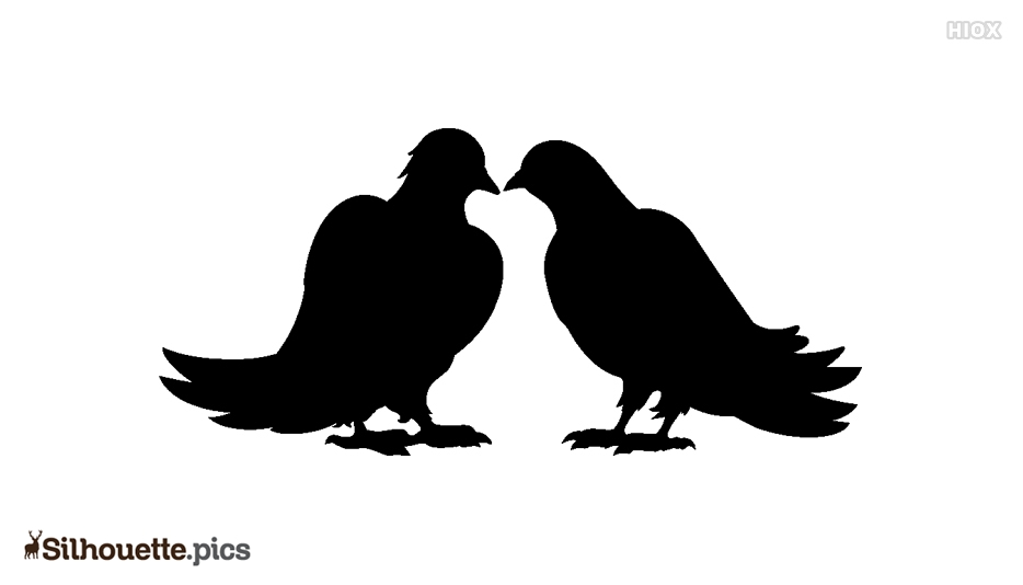 Love Birds Silhouette