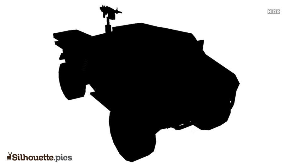 M14 X Caracal Light Reconnaissance Vehicle Silhouette