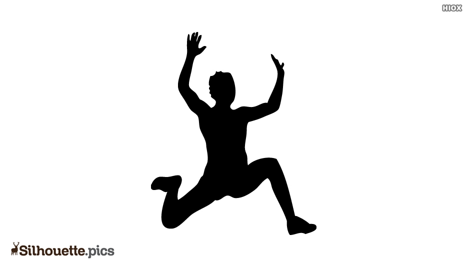 Man Jump Over Silhouette