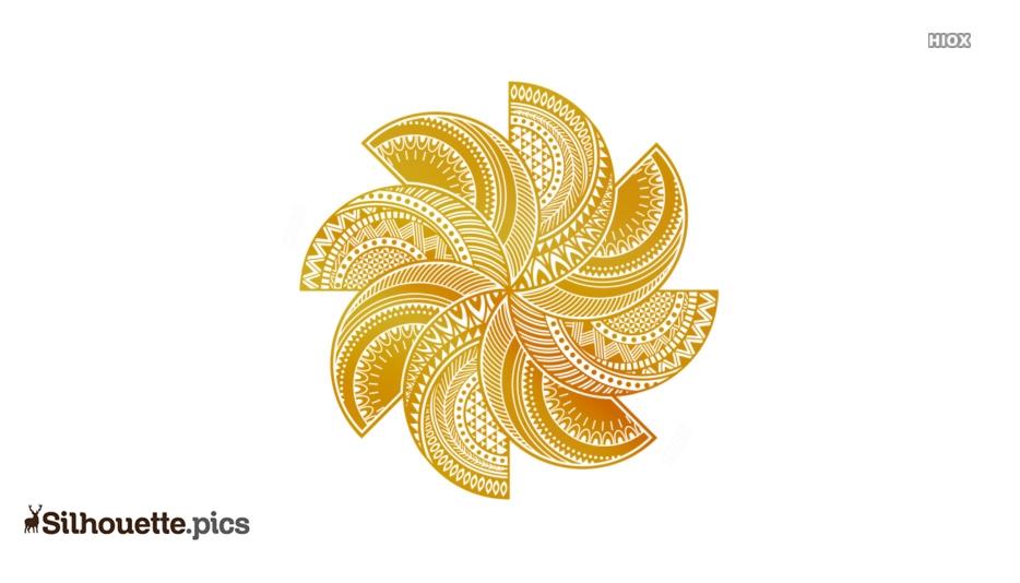 Mandala Designs Silhouette For Download