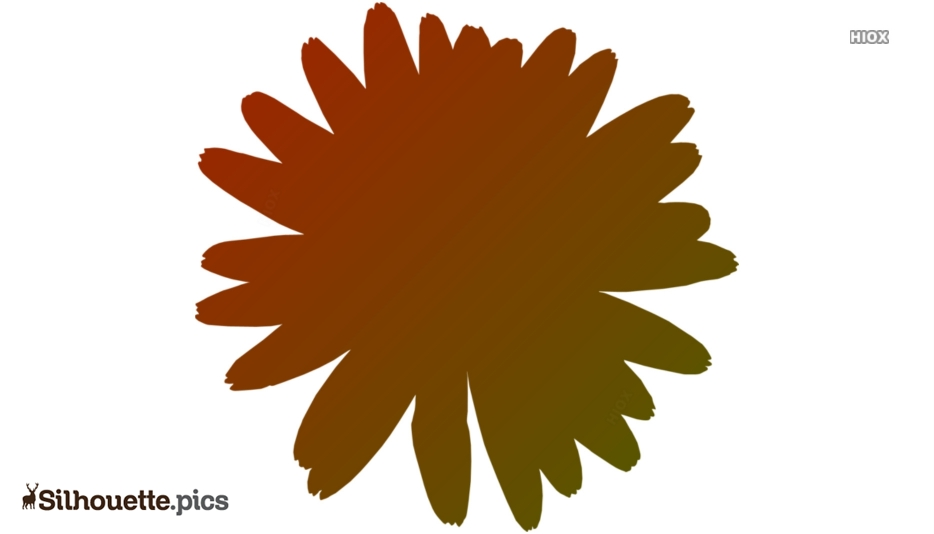 Margarita Flower Silhouette Art