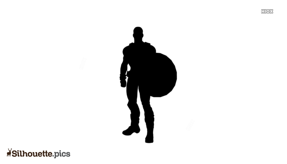 Marvel Characters Silhouette Illustration