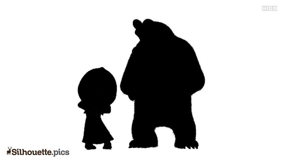 Masha And The Bear Silhouette