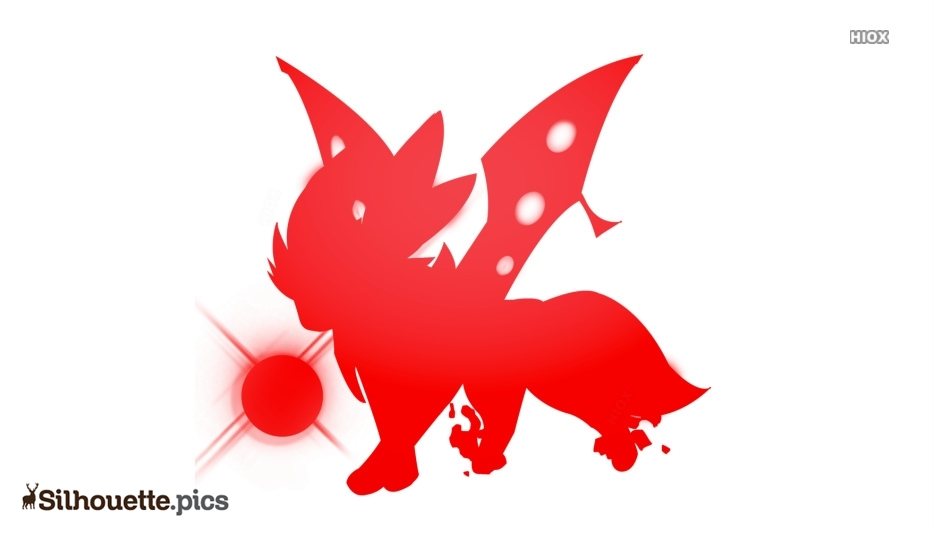 Mega Eevee Silhouette Image And Vector