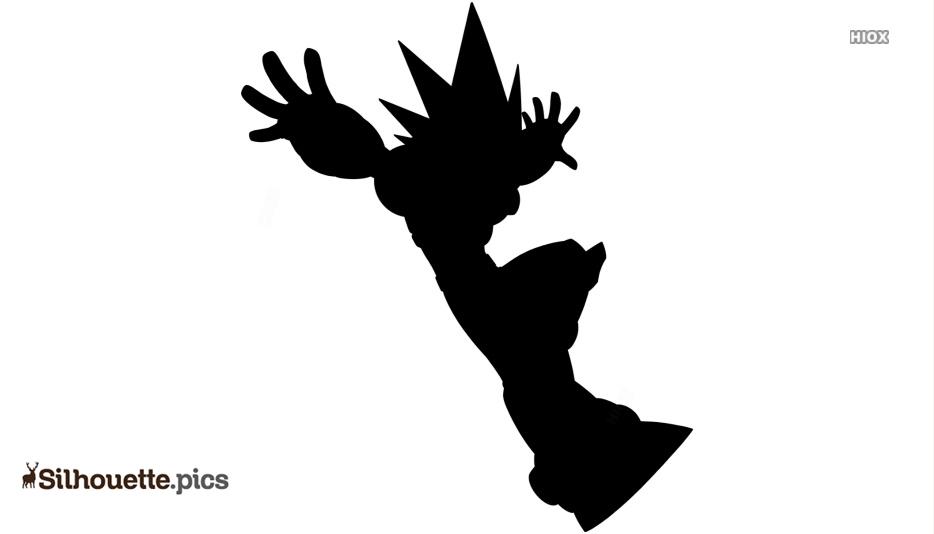 Mega Man Silhouette Picture