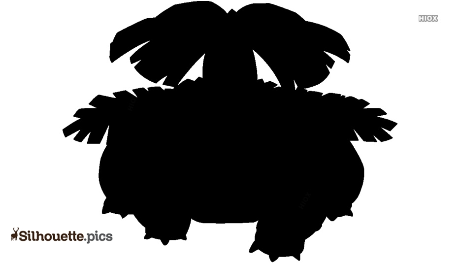 Mega Venusaur Silhouette Art