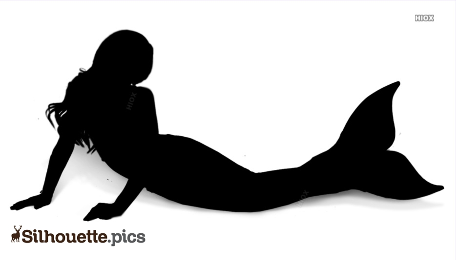 Mermaid Silhouette Clip Art