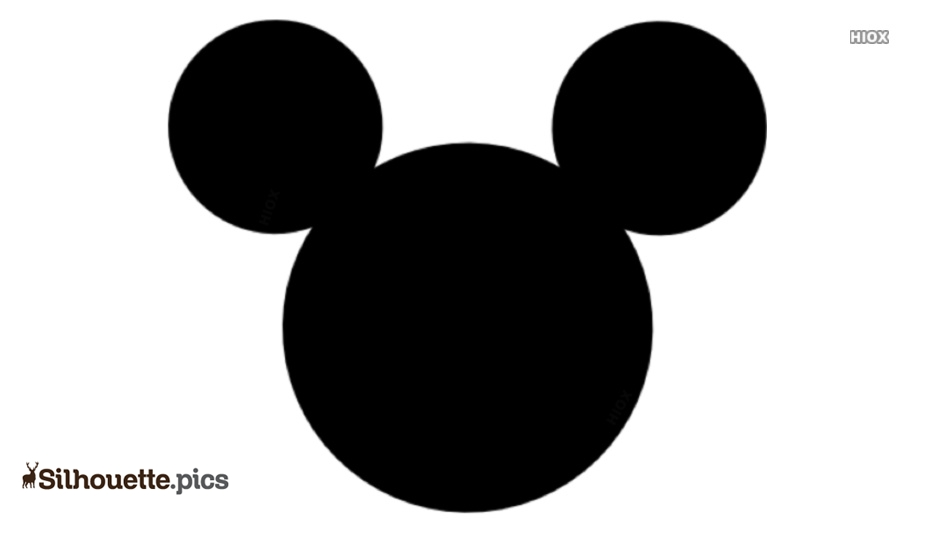 Mickey Mouse Head Clipart Free Download Silhouette Pics