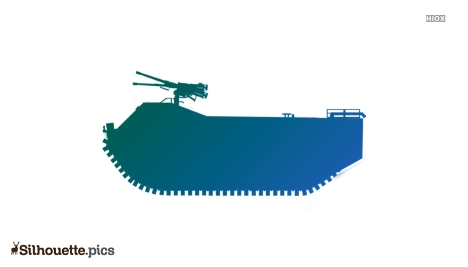 Military Vehicle Silhouette Image And Vector