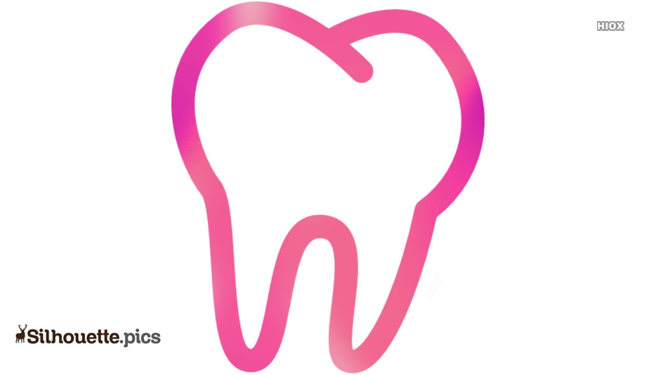 Molar Tooth Silhouette Vector And Graphics