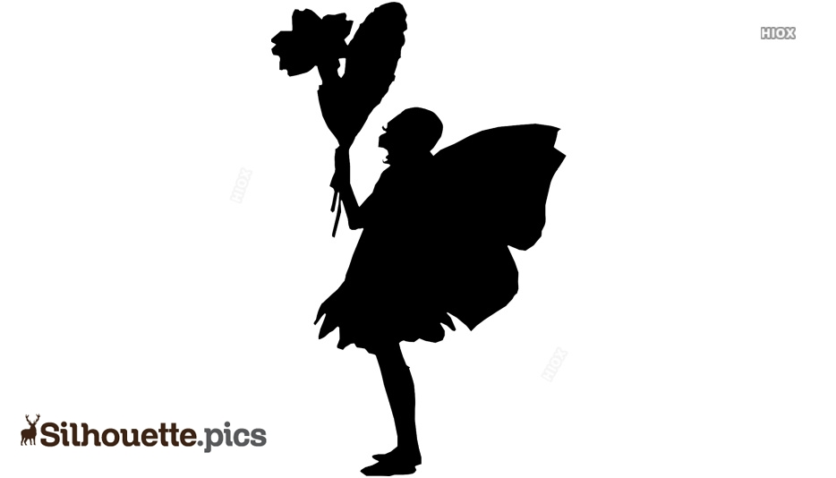 Monkey Fairy Silhouette
