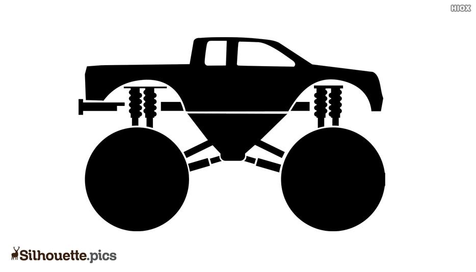 Monster Truck Silhouette