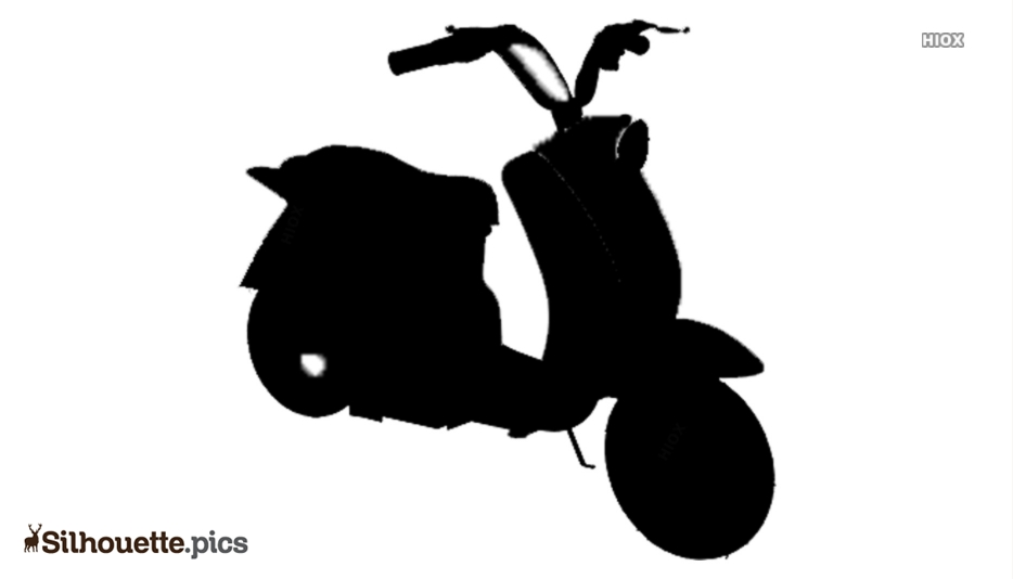 Motorcycle Silhouette Vector And Graphics