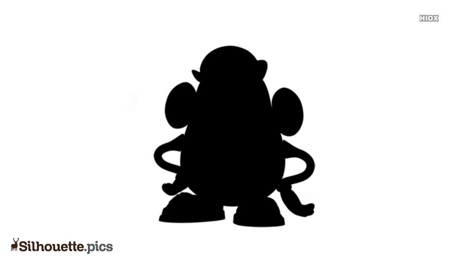 Mr Potato Head Logo Silhouette For Download