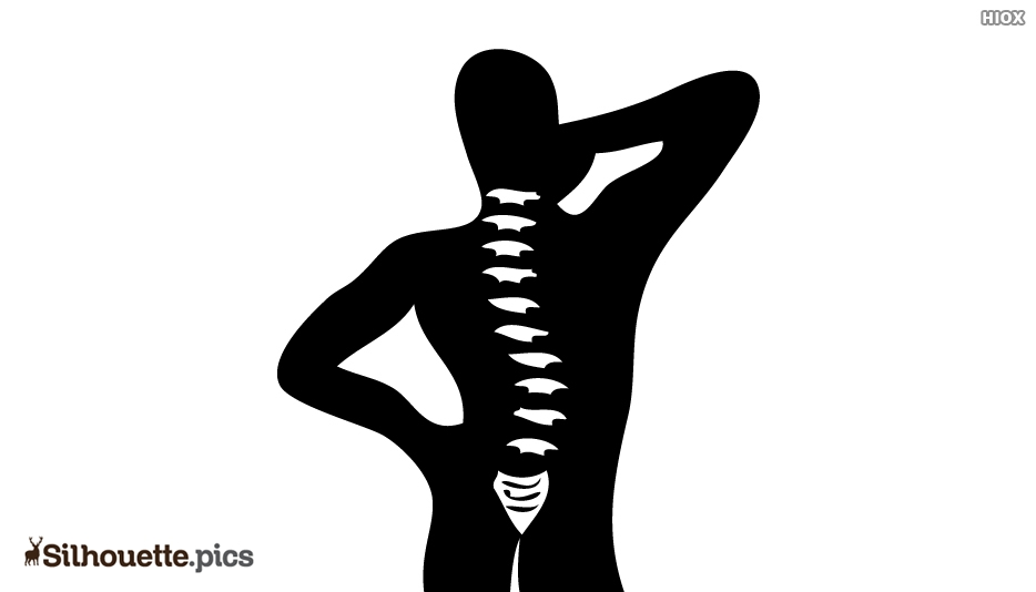 Muscle Pain Silhouette Icon Vector Image