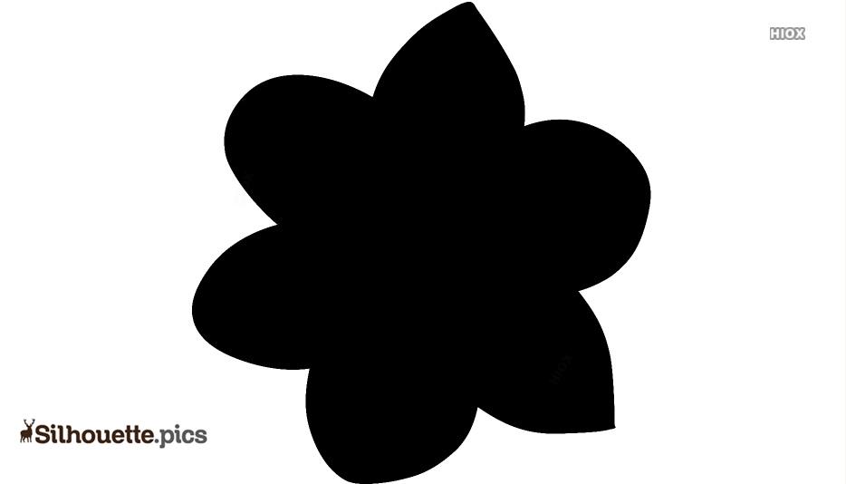 Narcissus Symbol Silhouette